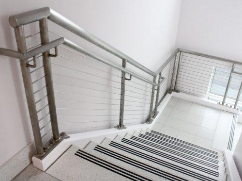Interior Stairs Steel Railing