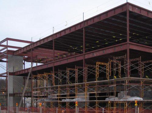 Dutchess County DPW Building Steel Framework