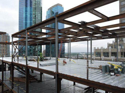 Steel Frame Building Construction